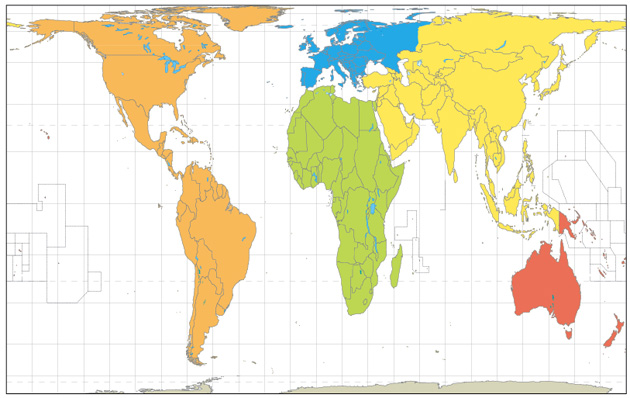 The Peters Projection World Map.Mapping The City A Stranger S Guide Duke Library Exhibits