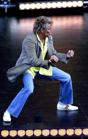 In Pictures Rod Stewart S Fashion Highlights Life And