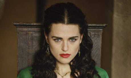 Morgana played by Katie McGrath in Merlin series 3
