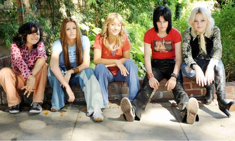 Film Review The Runaways Film The Guardian
