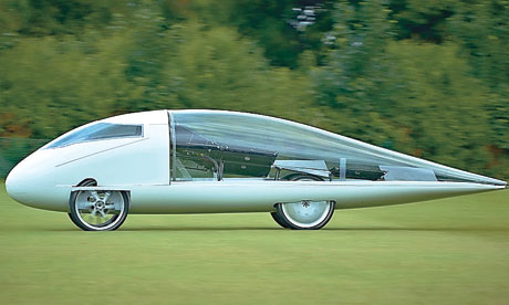 Resolution, a solar-powered automobile grown by Cambridge University Eco Racing