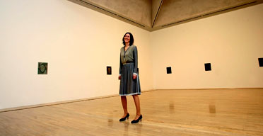 Painter Tomma Abts, winner of the 2006 Turner prize