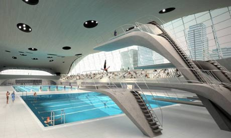 Cost worries over hadid 39 s 39 seductive 39 pool centre were for Pool design center