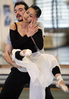 Northern Ballet Theatre rehearse A Sleeping Beauty Tale