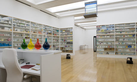 Pharmacy, instalação do artista plástico inglês Damien Hirst