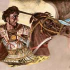 Alexander the Great During Battle