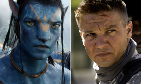 James Cameron's Avatar and Kathryn Bigelows' The Hurt Locker