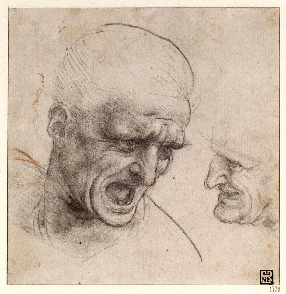 Profile 1487, Sketch, Leonardoda, Art, Leonardo Davinci ...