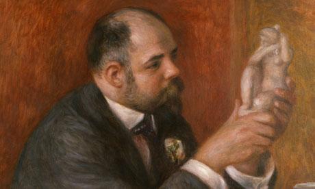 Portrait of Ambroise Vollard (1908) by Renoir