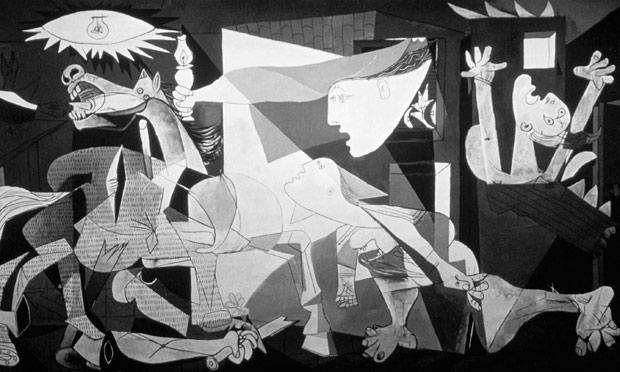 Picasso's love affair with monochrome | Art and design ...  Picasso's l...