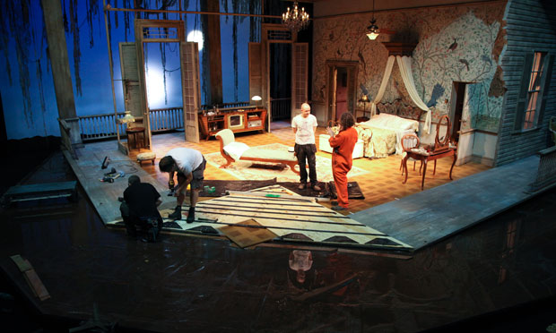 Behind the scenes: Cat on a Hot Tin Roof at West Yorkshire ...