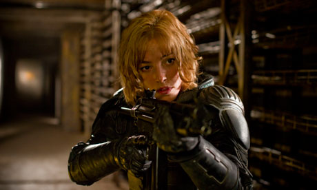 Dredd comes out top on weekend when audiences prefer the ...