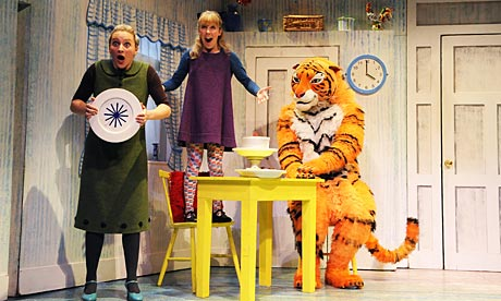 The Tiger Who Came to tea at the Lyric theatre in London