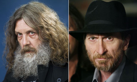 Alan Moore and Frank Miller