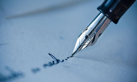 Writers bid to revive letter-writing | Books | The Guardian