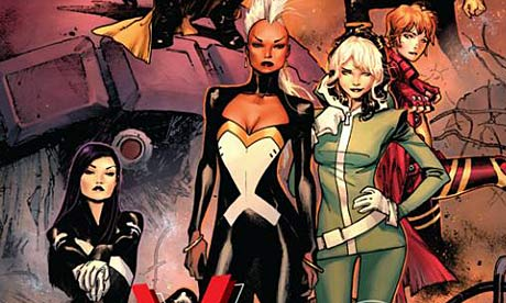 X Men Go All Female In New Comic Books The Guardian