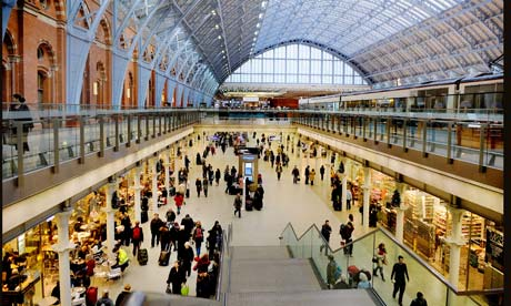 Railways Help Keep Uk Shop Sales On Track Andrew Martin