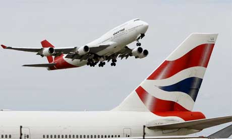 British Airways and Australia's Qantas