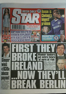 Irish Daily Star - 24 November 2010