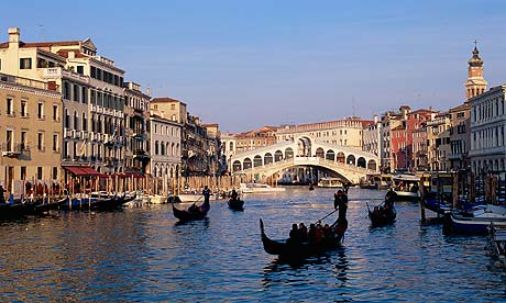 Venice: Rialto Bridge and Grand Canal
