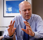 Britain's Work and Pensions Minister Chris Grayling
