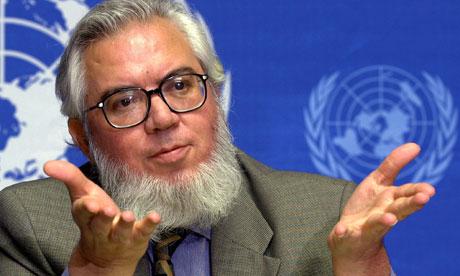 International Labour Organisation (ILO) director general, Juan Somavia