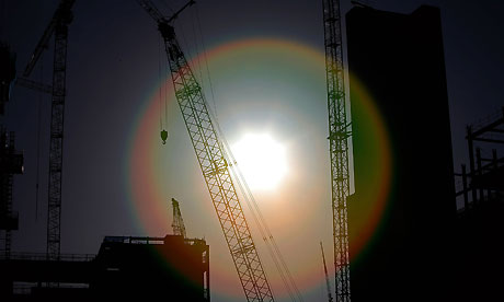 The UK construction sector is growing