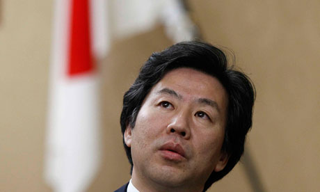 Japan's Finance Minister Jun Azumi.