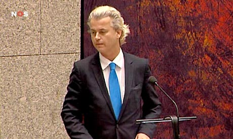 Geert Wilders, leader of PVV
