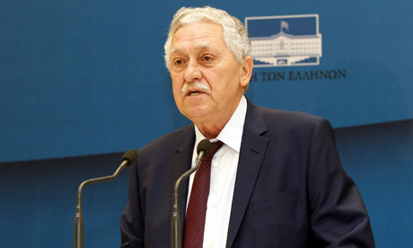 Democratic Left party leader Fotis Kouvelis.