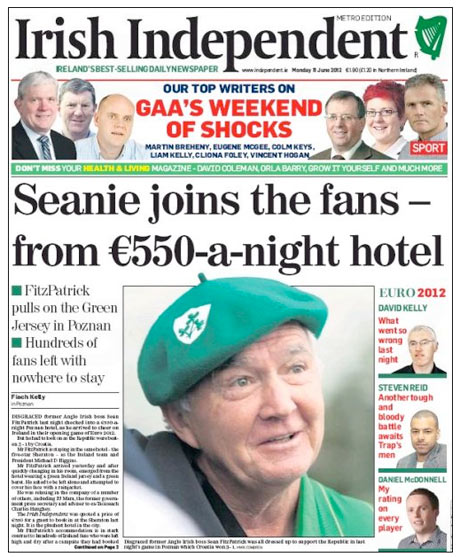 Irish Independent - Sean FitzPatrick