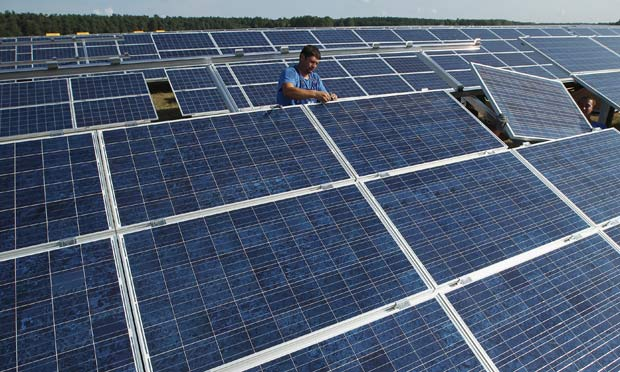 Solar Panel Spat Threatens Trade War Between China And Europe Business The Guardian