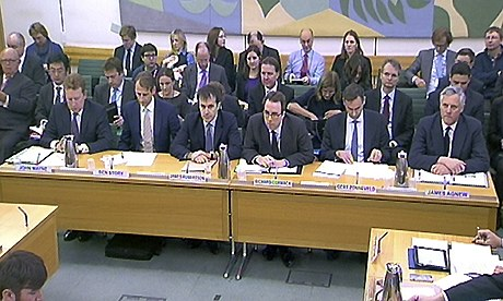 Business select committee quizzes bankers