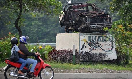 mdg road accident traffic warning