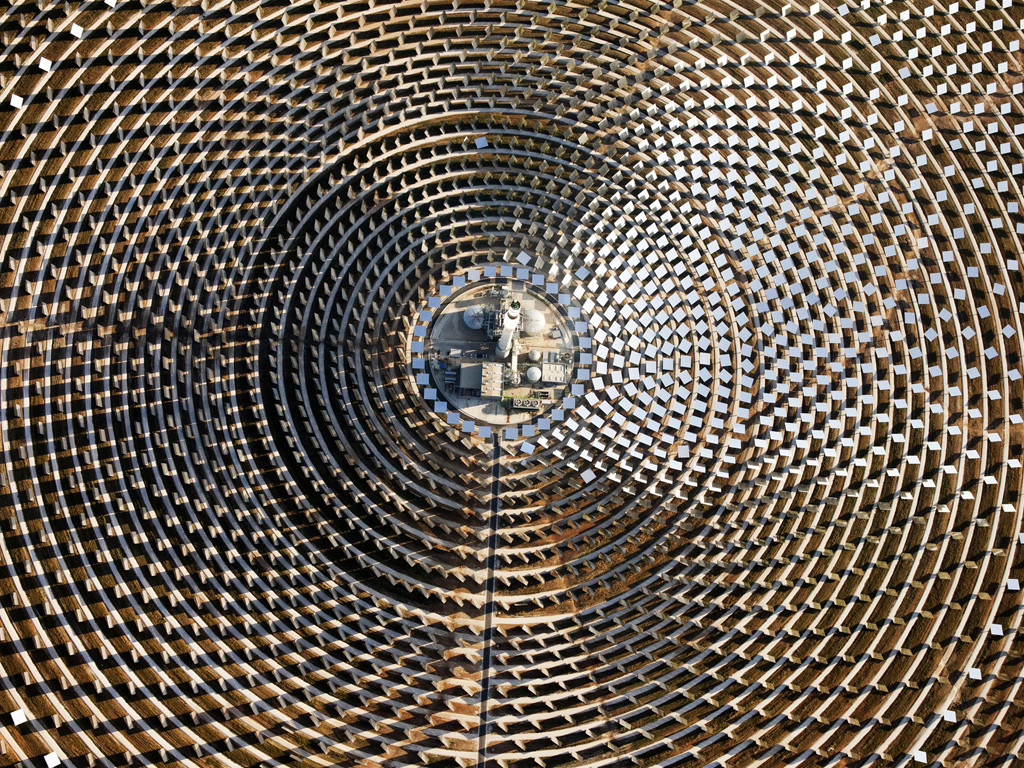 Round The Clock Solar Power Plant In Spain Big Picture