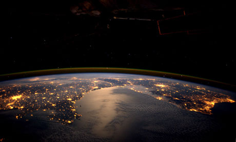 International Space Station Pictures of Earth At Night ...