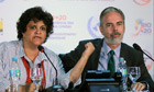 Rio+20 : draft agreement press conference with Antonio Patriota and  Isabella Teixeira