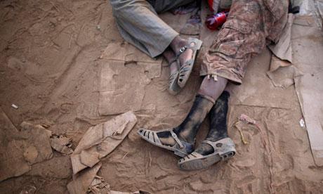 MDG : East African migrants