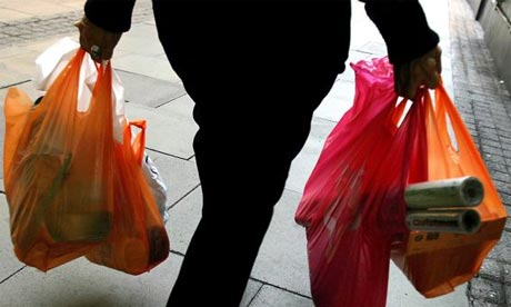 Shoppers in England to be charged for plastic bags ...