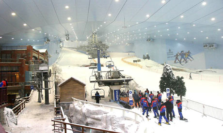 Skiing in Abu Dhabi – An exciting acitivity