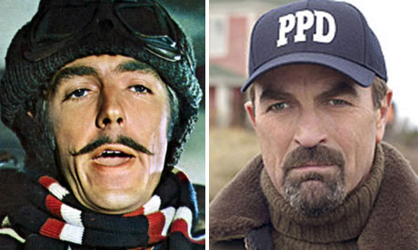 Peter Cook in Monte Carlo or Bust! and Tom Selleck in Stone Cold