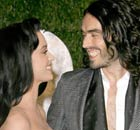 Oscars parties 2010: Russell Brand and Katy Perry