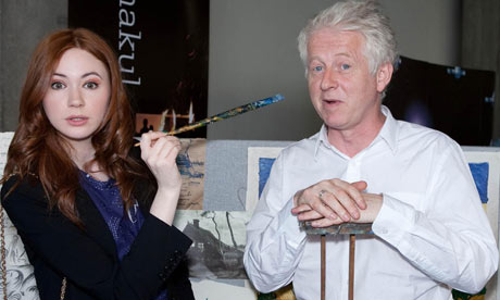 Doctor Who: Richard Curtis and Karen Gillan