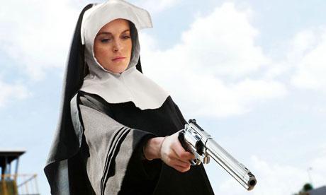 Phrase... cartoon evil fetish nun can mean?