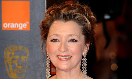 Bafta Awards 2011 - Arrivals - London: Lesley Manville