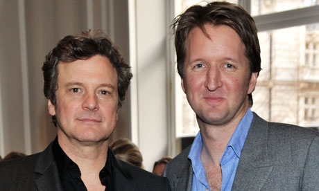 Baftas 2011: Colin Firth and Tom Hooper