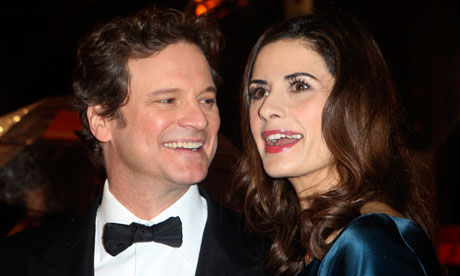 Baftas 2011 - Colin Firth and Livia Giuggioli