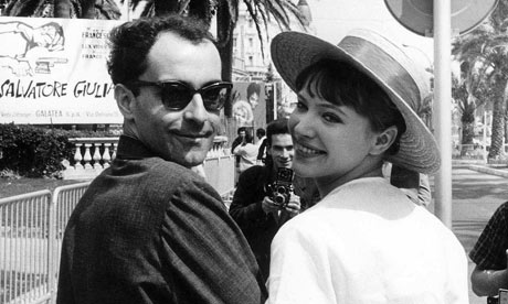 Godard in the 60s, with Anna Karina