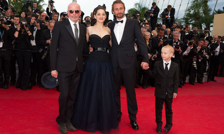 Rust and Bone film premiere, 65th Cannes Film Festival, France - 17 May 2012
