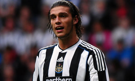 Andy Carroll is mocking Newcastle United as club
